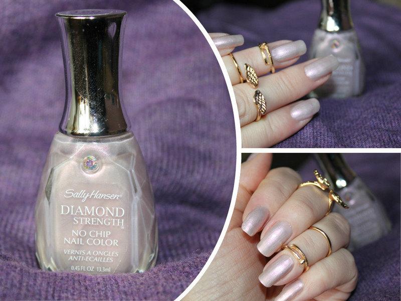 Отзыв: Лак для ногтей #180 «Вместе навсегда» - Sally Hansen Diamond Strength No Chip Nail Color #180 Together forever.