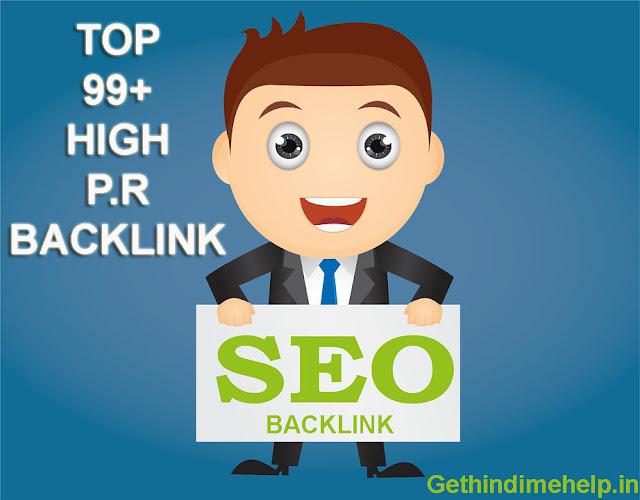 Top 100+ High Pr Edu Sites List For Building Backlinks