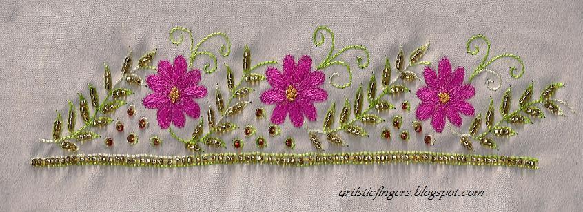 Artisticfingers aari embroidery
