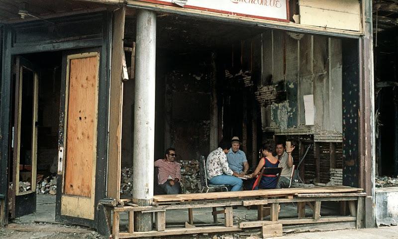 Residentes de South Bronx 1977