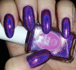 Cupcake-Polish-Berry-Looking-Good-Purple-Holo-Holographic-Nail