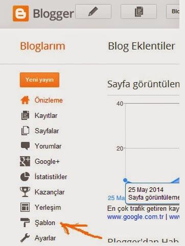 Blogger tema yukleme