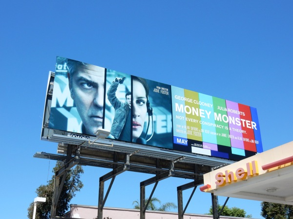 Money Monster movie billboard