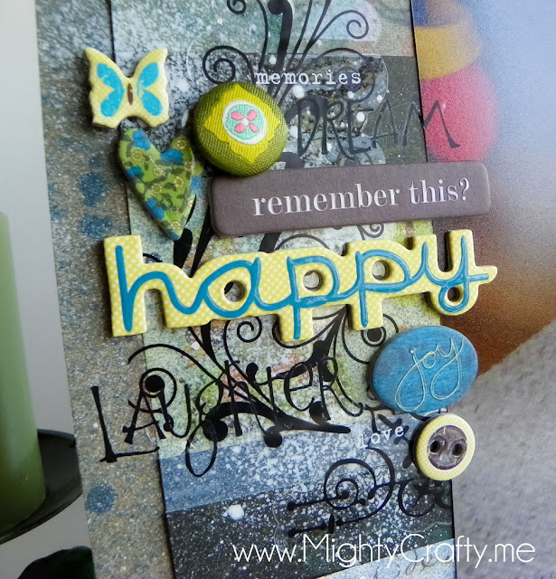 Embellishment collage - www.MightyCrafty.me