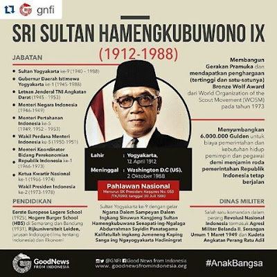 Sri Sultan Hamengkubuwono IX