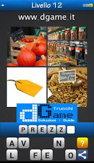 PACCHETTO 5 Soluzioni Trova la Parola - Foto Quiz con Immagini e Parole soluzione livello 12