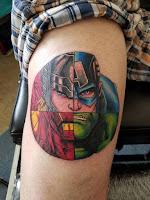 Tatuajes de Marvel