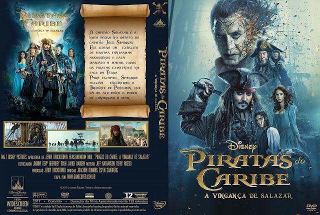 Capa DVD Piratas Do Caribe A Vingança De Salazar [Exclusiva]