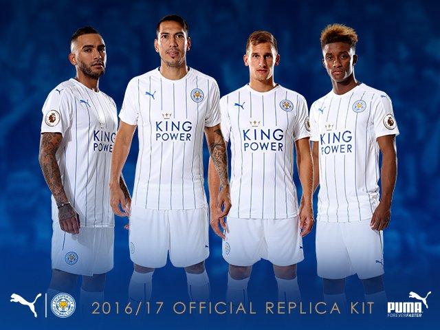 649a492136128 Camisetas de futbol baratas 2016  Camiseta Leicester 2017 tercera ...