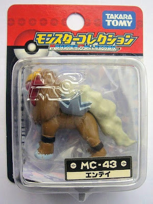 Entei figure Takara Tomy Monster Collection MC series