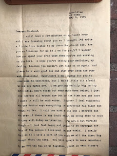 Page 2 of the love letter found after 72 years