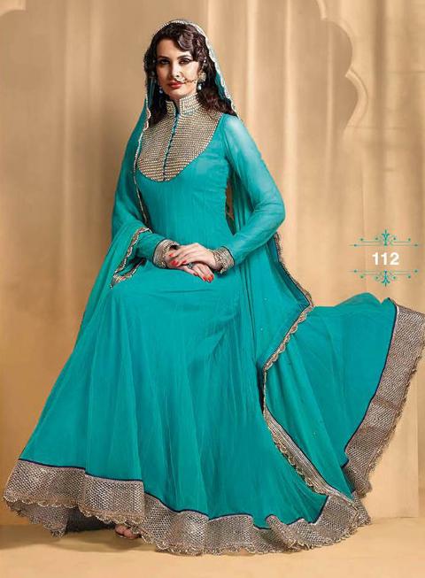 12 Model Baju Gamis India Terbaru 2016