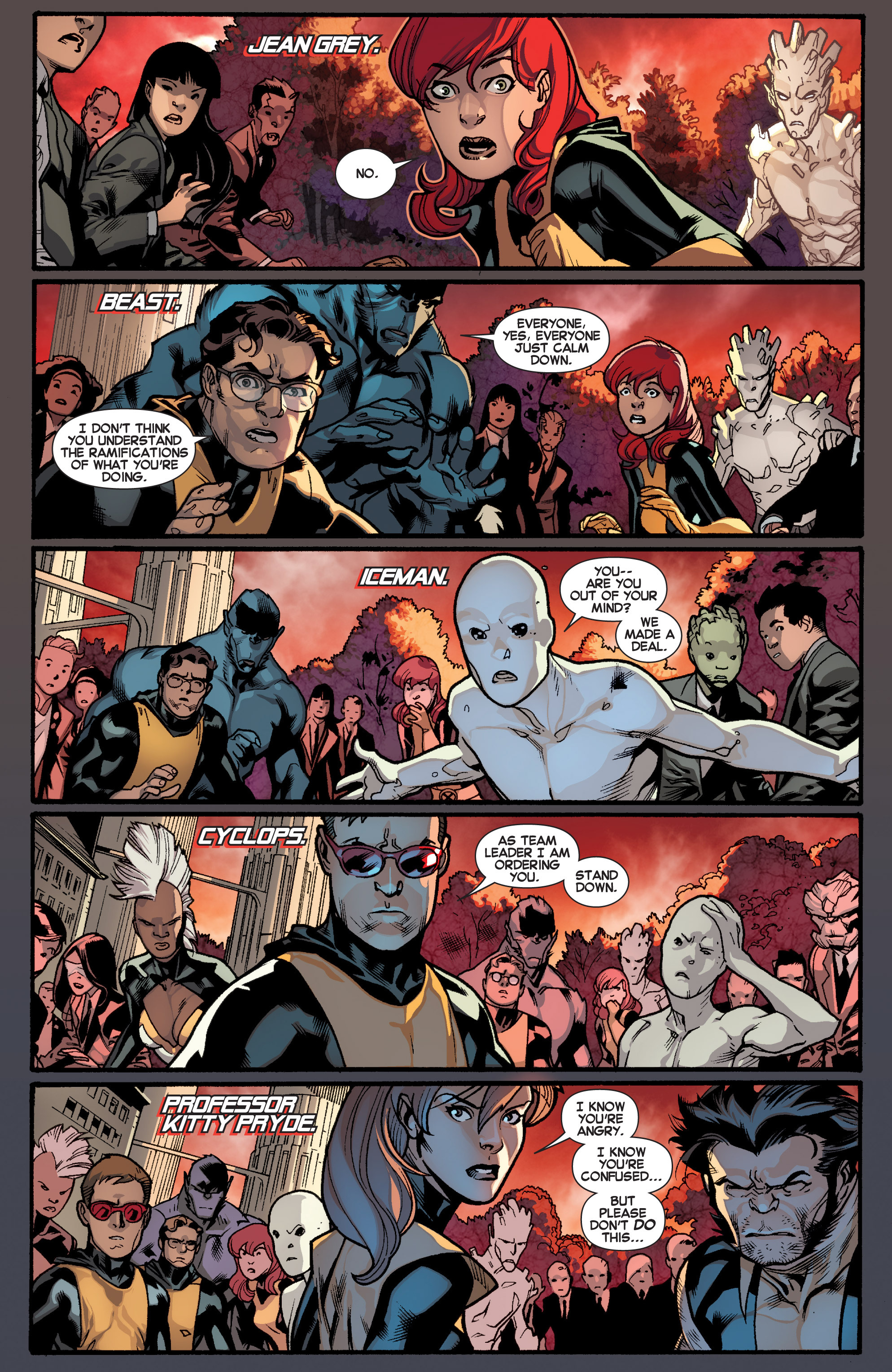 Read online All-New X-Men (2013) comic -  Issue # _Special - Out Of Their Depth - 5