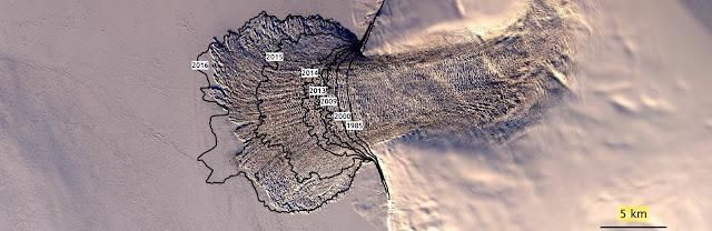 Unprecedented ice loss in Russian ice cap