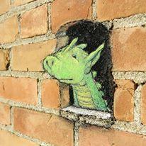Seni Menggambar 3D di Jalanan dengan Kapur Yang Keren Kreatif dan Sangat Menginspirasi-8