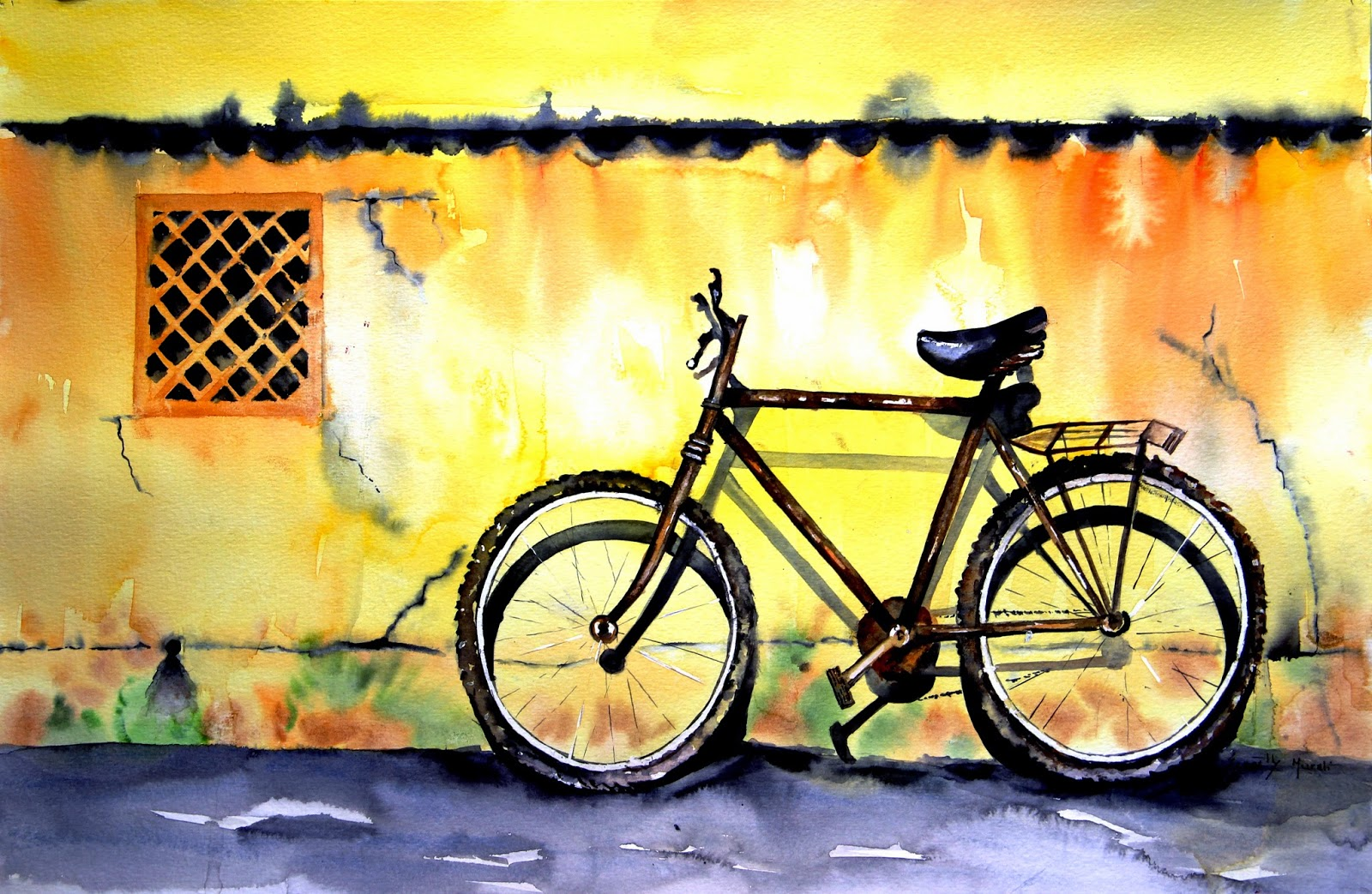 Painting by Spoorthy Murali, artist profile at Art Scene India, Image courtesy artist