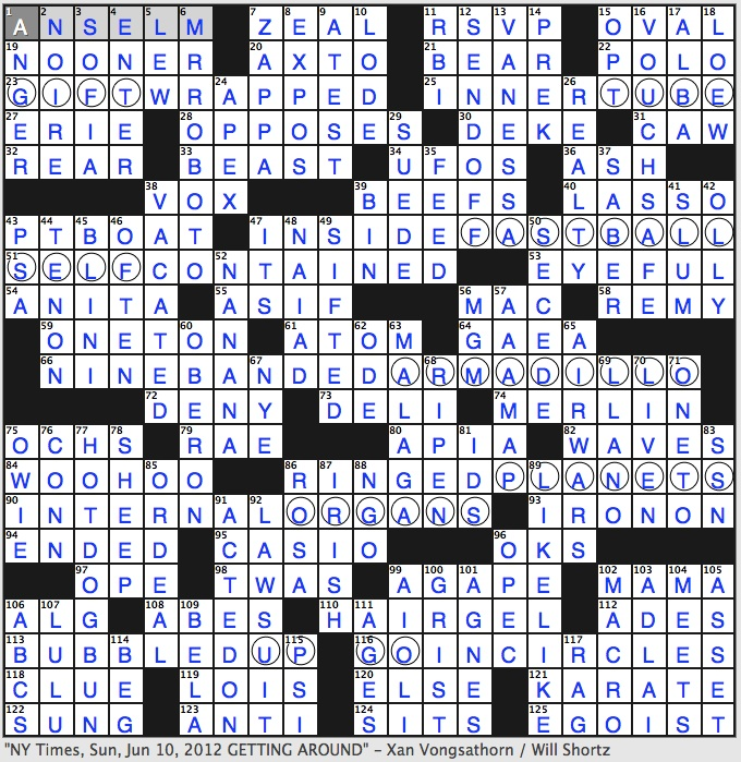 Rex Parker Does The Nyt Crossword Puzzle Benedictine Monk Who Founded Scholasticism Sun 6 10 12 Hockey Feint Jabberwocky Starter Ben Hur Novelist Wallace First Name In 1960s Diplomacy
