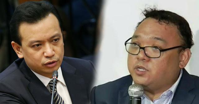 Sen. Trillanes Hits Rep. Harry Roque | parang nasapian ng masamang Espiritu.