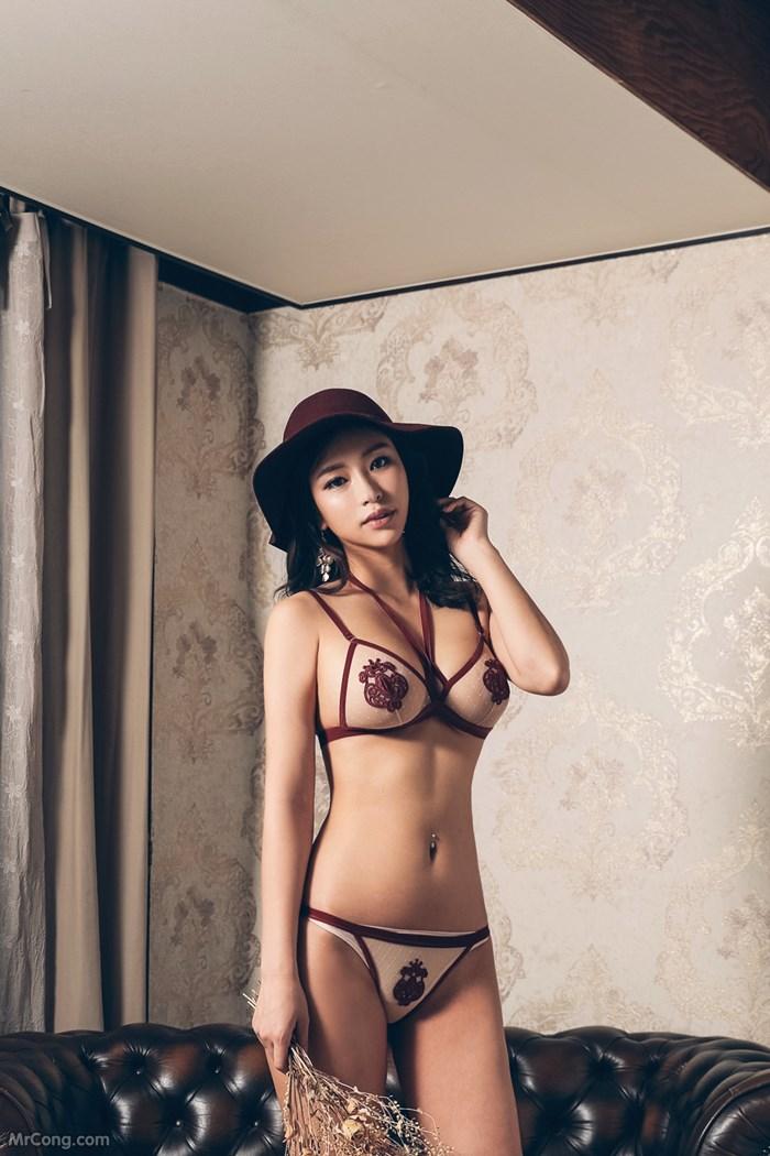 Image Kwon-Soo-Jung-MrCong.com-060 in post Người đẹp Kwon Soo Jung đầy mê hoặc trong bộ sưu tập nội y (134 ảnh)