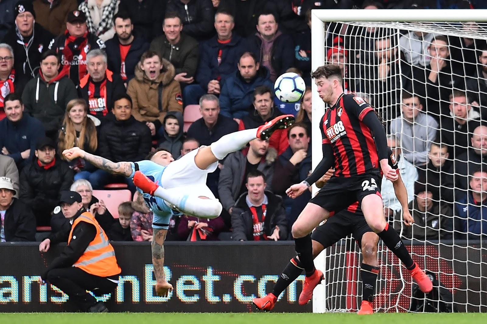 Prediksi Pertandingan Liga Inggris Bournemouth VS Manchester City