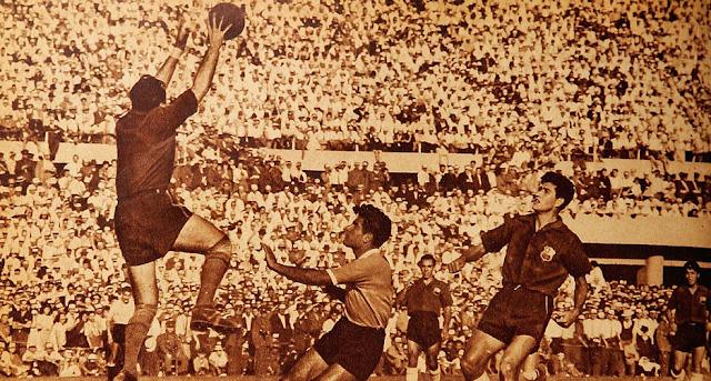 Chile y Uruguay en Campeonato Panamericano 1952, 13 de abril