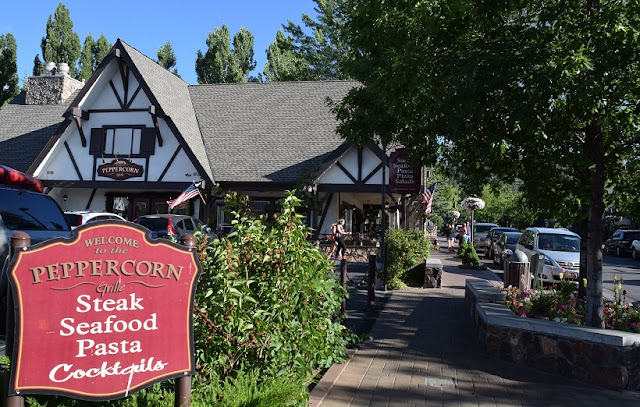 Restaurante Peppercorn Grille em Big Bear Mountain