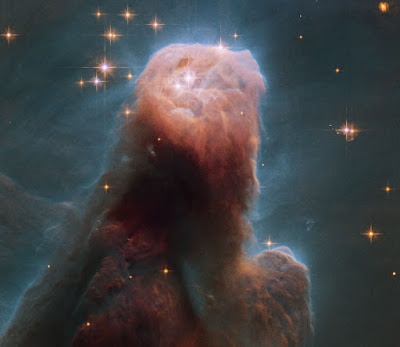 Astromony The Cone Nebula from Hubble