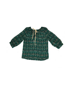 Ace & Jig Emerald Rosa Top