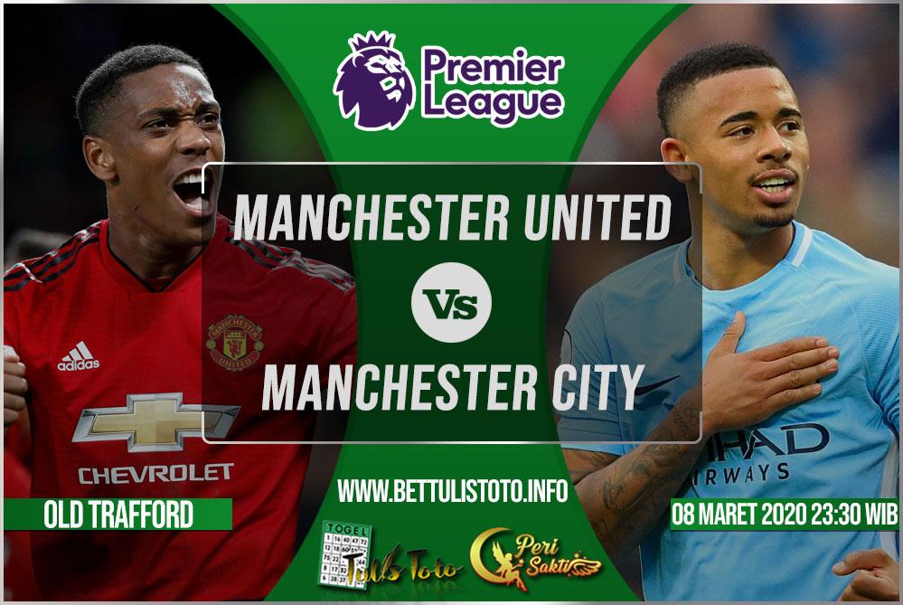Prediksi Manchester United vs Manchester City 08 Maret 2020