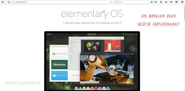 Elementary OS, OS terbaik ringan sejuk dipandang (menurut Saya)