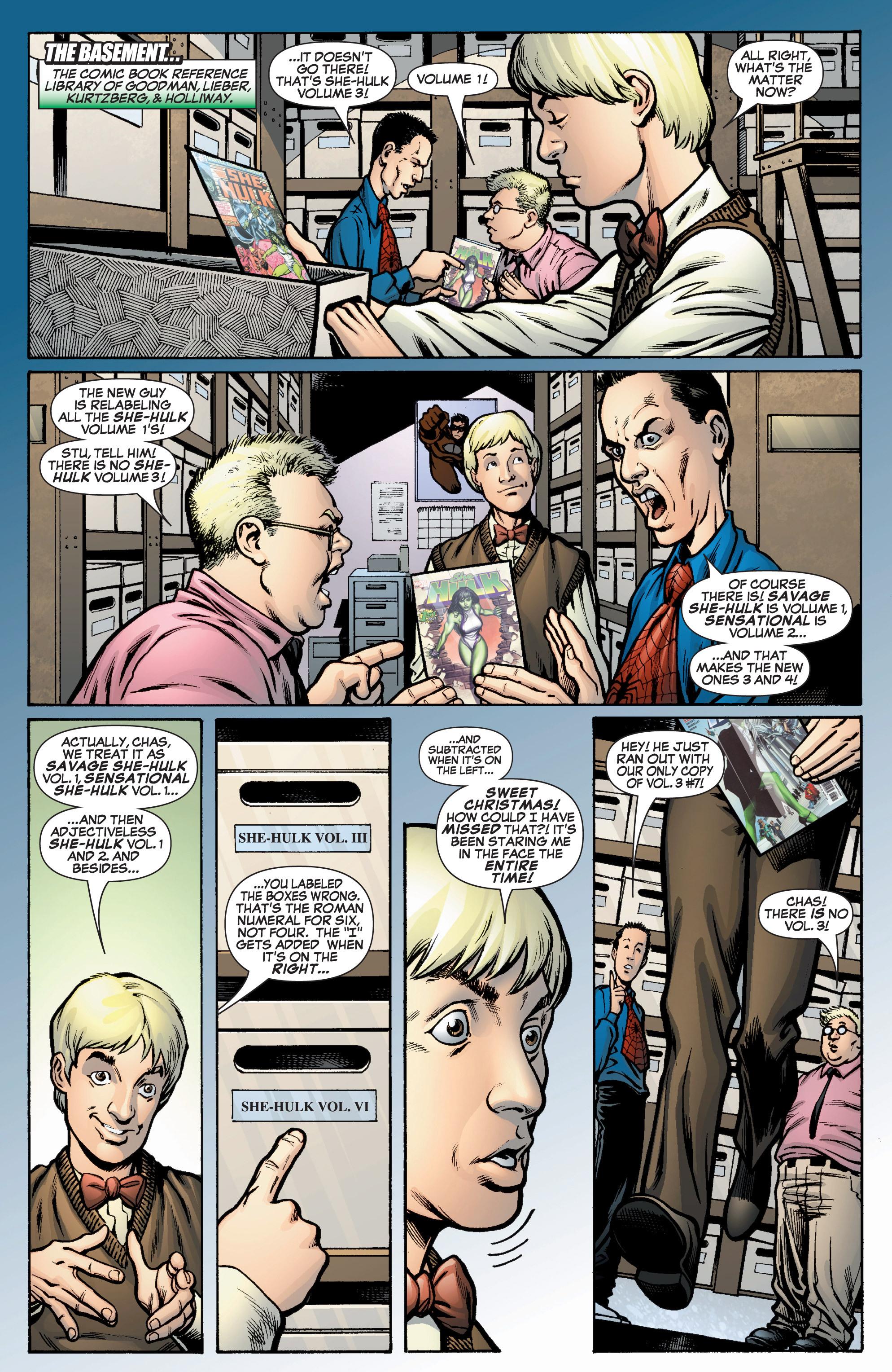 Read online She-Hulk (2005) comic -  Issue #10 - 16