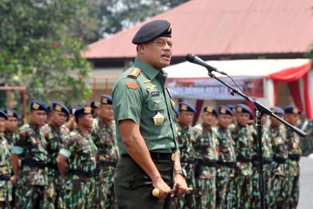 Panglima TNI meminta TNI dan Polri kompak, agar tak mudah dipecah belah
