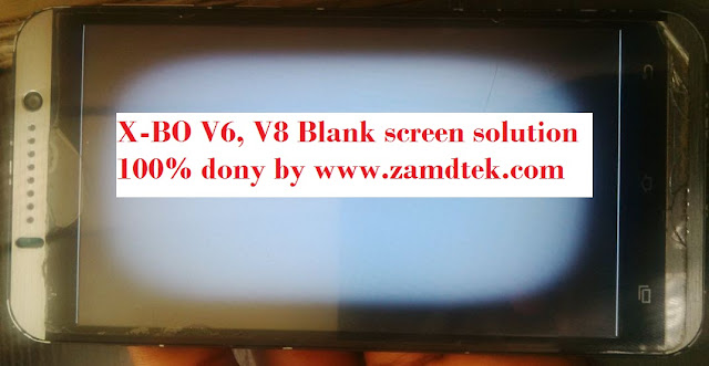 X-BO SONY Clone V6 Display fix 100% solution