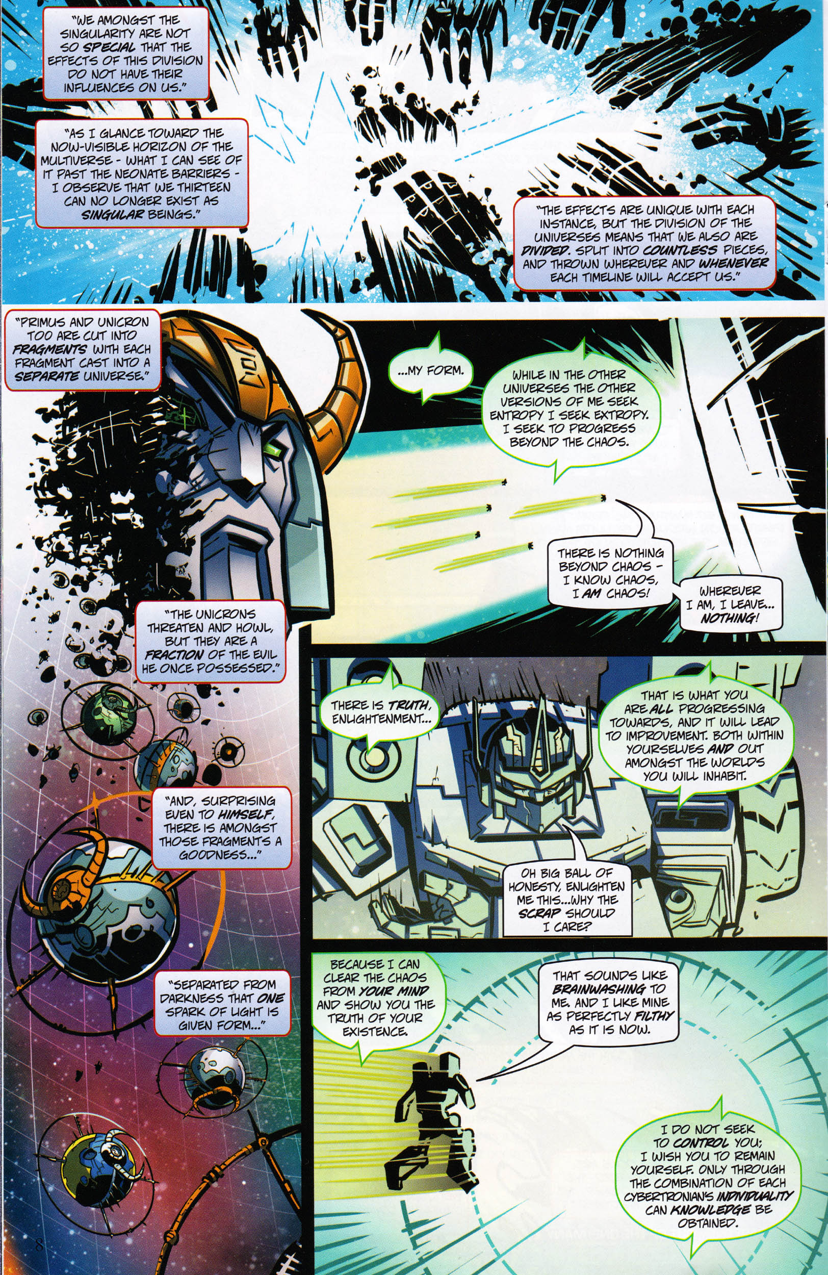 Read online Transformers: Collectors' Club comic -  Issue #65 - 8