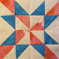 block of the month star quilt pattern