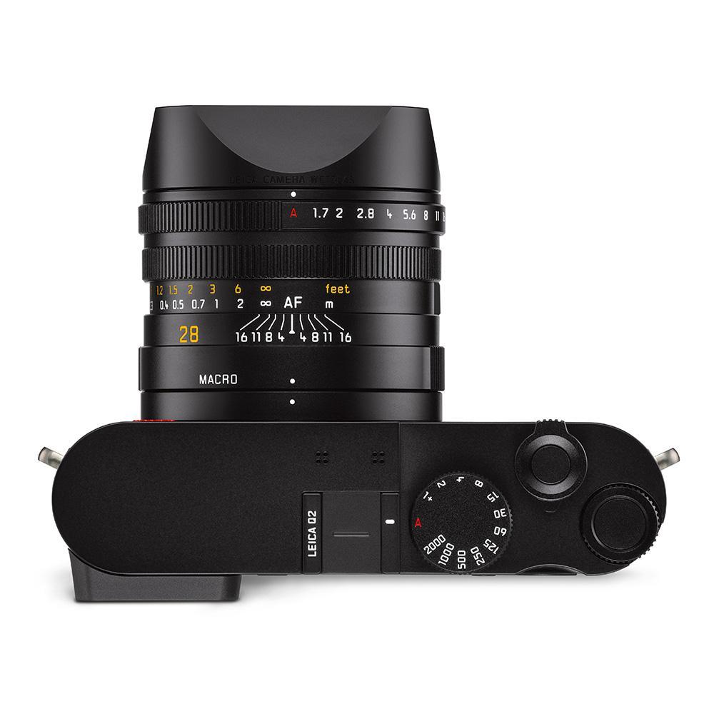 Leica Q2, вид сверху