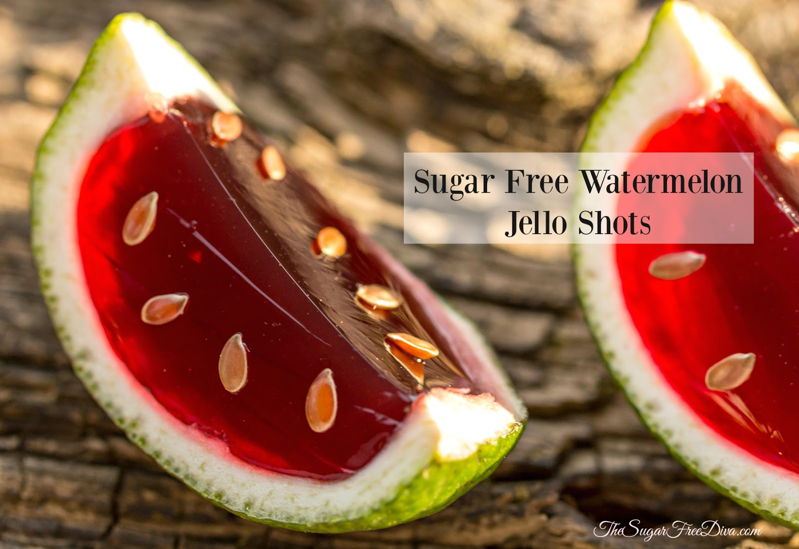 Sugar Free Watermelon Jello Shots