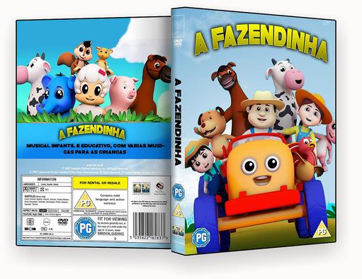 A FAZENDINHA – ISO – CAPA DVD