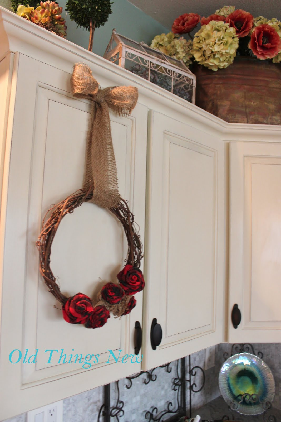 Old Things New Two Wreaths Plain And Fancy