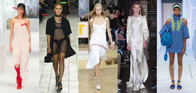 London Fashion Week, a femininity on the skin