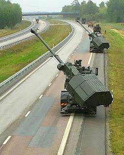 Howitzer Swa-Gerak ARCHER 155mm