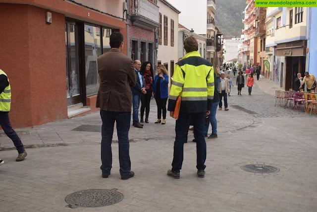 Santa Cruz de La Palma ya disfruta de una renovada calle Anselmo Pérez de Brito en plena Zona Comercial Abierta