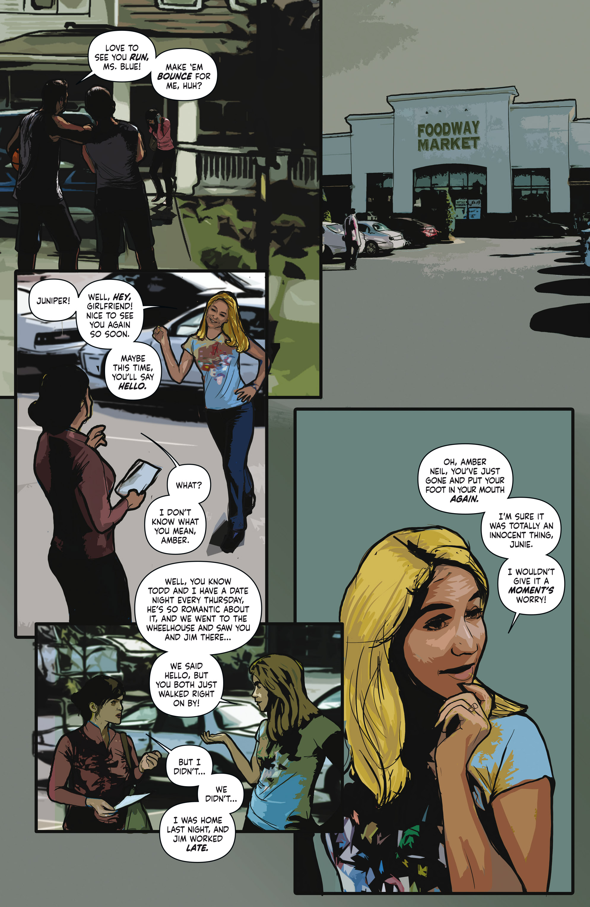 Read online Crosswind comic -  Issue #1 - 18