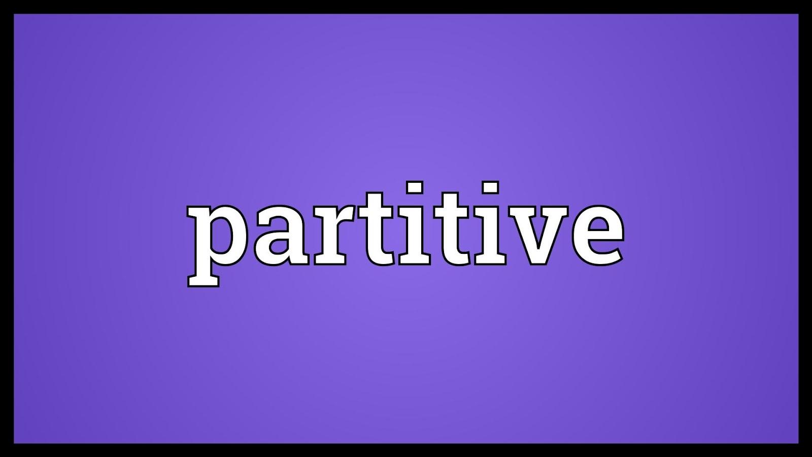 Partitive Proportion