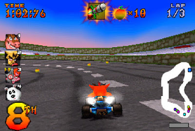 Crash Team Rancing PS1 ISO