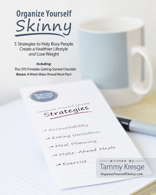 How to organize yourself skinny to help you and ME lose weight with this great ebook featured on Walking on Sunshine Recipes.