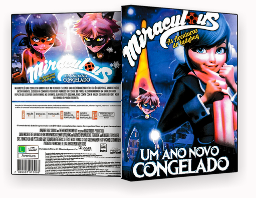 CAPA DVD – Miraculous Um Ano Novo Congelado – ISO