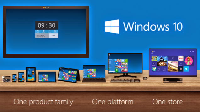 microsoft has initiated the Windows 10 open