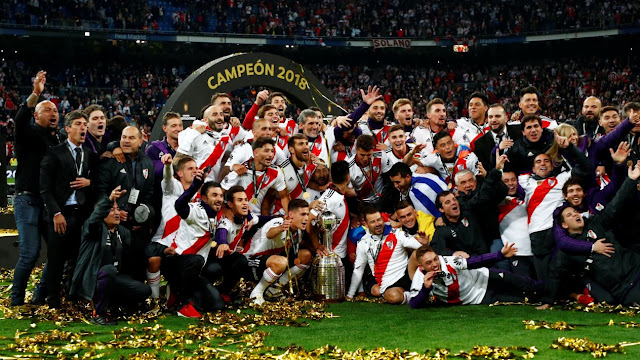 River Plate es campeón de la Copa Libertadores 2018