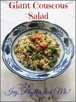 GIANT COUSCOUS SALAD